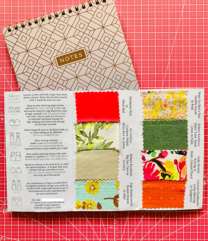 The Confident Stitch Swatch Service | oonaballoona by Marcy Harriell