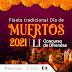 """Emite Cultura convocatoria """"LI Concurso de Altares y Ofrendas a los Muertos"""""""