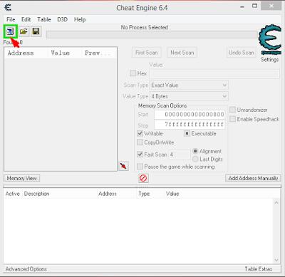 Cara Mempercepat Browser Dengan Cheat Engine