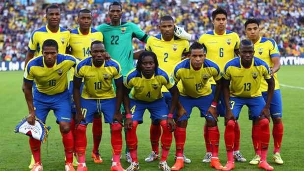 Copa America Ecuador Squad