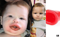 Kylie Jenner challenge goes wrong, but this time it's a baby