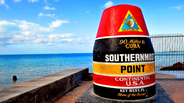 Southernmost Point a solo 90 millas de Cuba