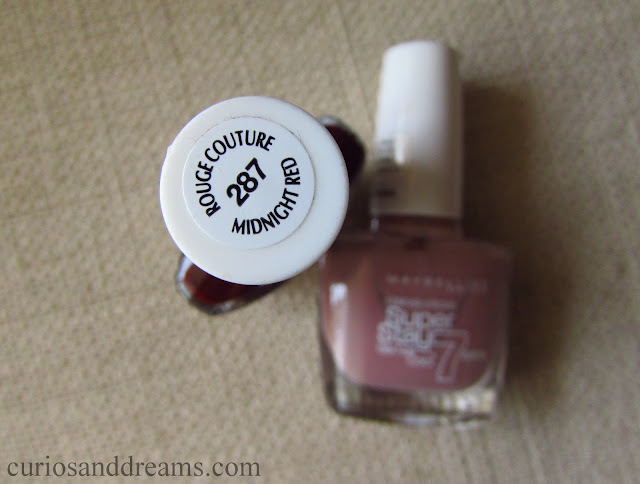Maybelline SuperStay Gel Polish review, Maybelline SuperStay Gel Polish Midnight Red review