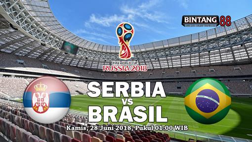 Prediksi Serbia Vs Brasil 28 Juni 2018
