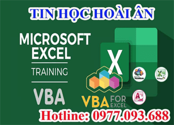 Lập trình VBA Excel