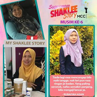 Testimoni Detox Shaklee Program Turun dari Saiz XL ke Saiz S