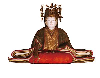 Tofukumon-in statue.