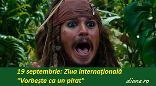 """19 septembrie: Ziua internațională """"Vorbește ca un pirat"""""""
