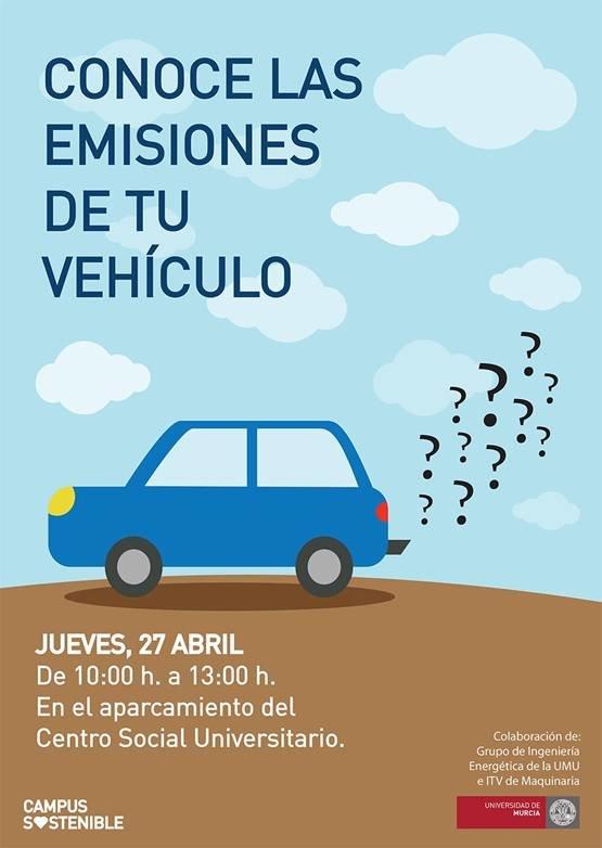 Conoce las emisiones de tu vehículo.