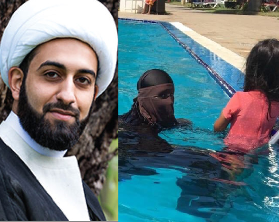Wearing Burqa to swim is not normal, it is a result of brainwashing – Imam of Peace