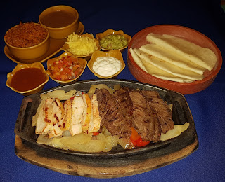 Sizzling Fajitas in Pattaya Thailand at Tequila Reef