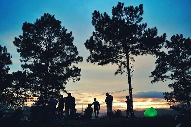 Góc Đà Lạt khác đẹp về đêm ở Kim Ngân Hills
