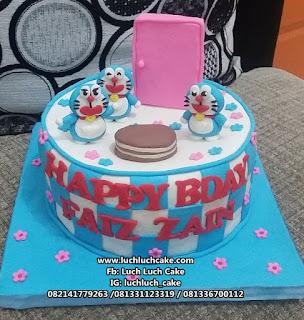 Kue Tart Doraemon Dorayaki Fondant Cake