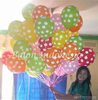 Balon gas juga bis untuk dekorasi atau surprise