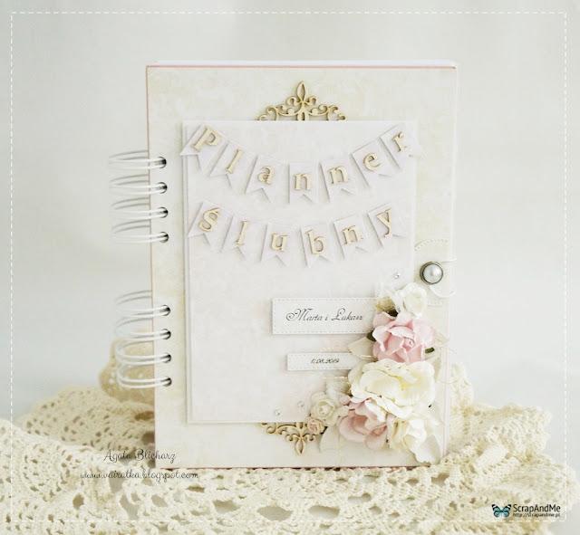 Planner ślubny z banerkami/DT ScrapAndMe