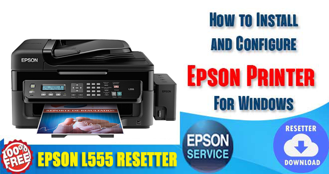Epson L555 Adjustment Program