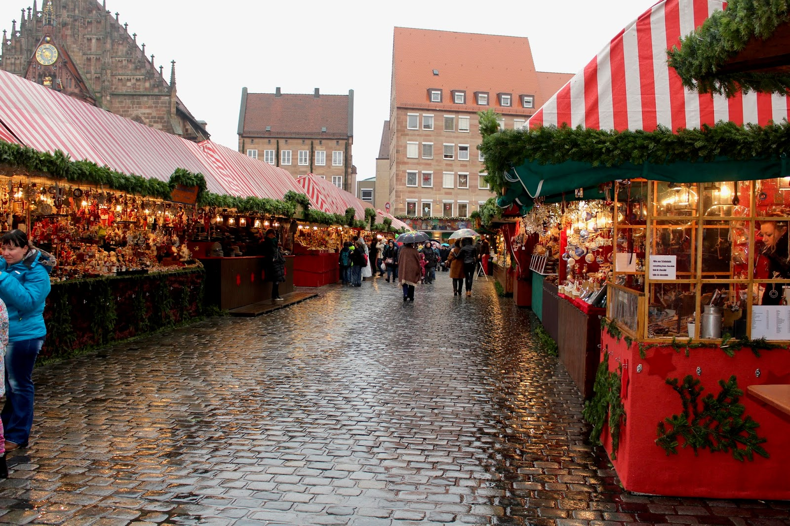 The Unique and Traditional at the Christmas Market in Nuremberg ...