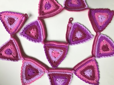 Attic24 crochet pink bunting