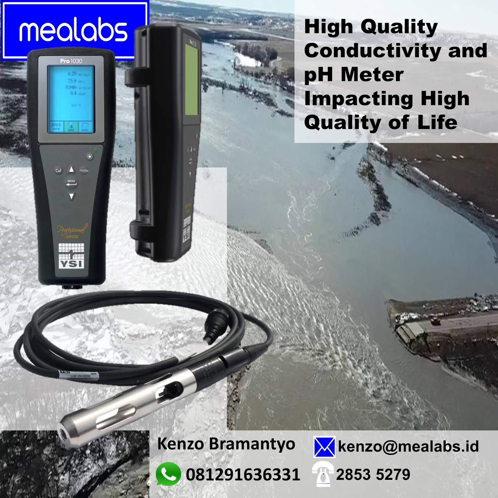 Jual Conductivity Meter Indonesia