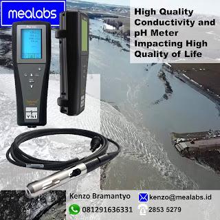 Conductivity and pH Meter yang berkualitas baik dan bagus
