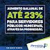 Prefeitura de Pintadas aumenta em até 23% salários dos servidores