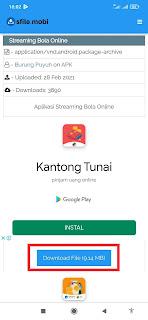 Download Aplikasi Live Streaming Bola Gratis