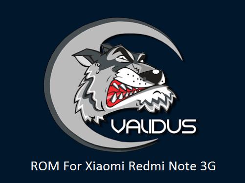[6.0.1] Validus ROM For Xiaomi Redmi Note 3G