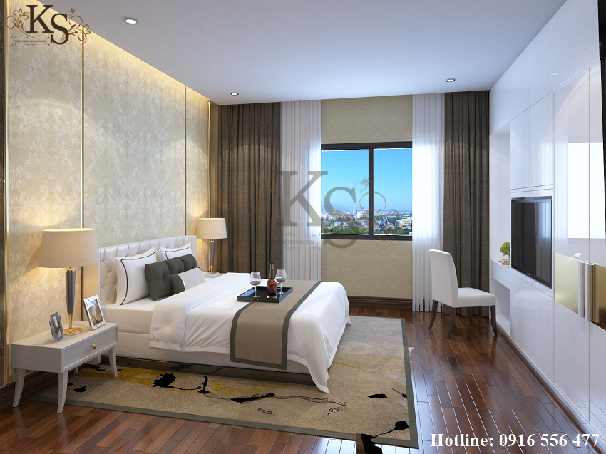 Hình ảnh: Diện tích phòng ngủ đơn khách sạn nhỏ hơn nhưng vẫn đảm bảo sự tiện nghi cho khách nghỉ ngơi tại nơi đây.