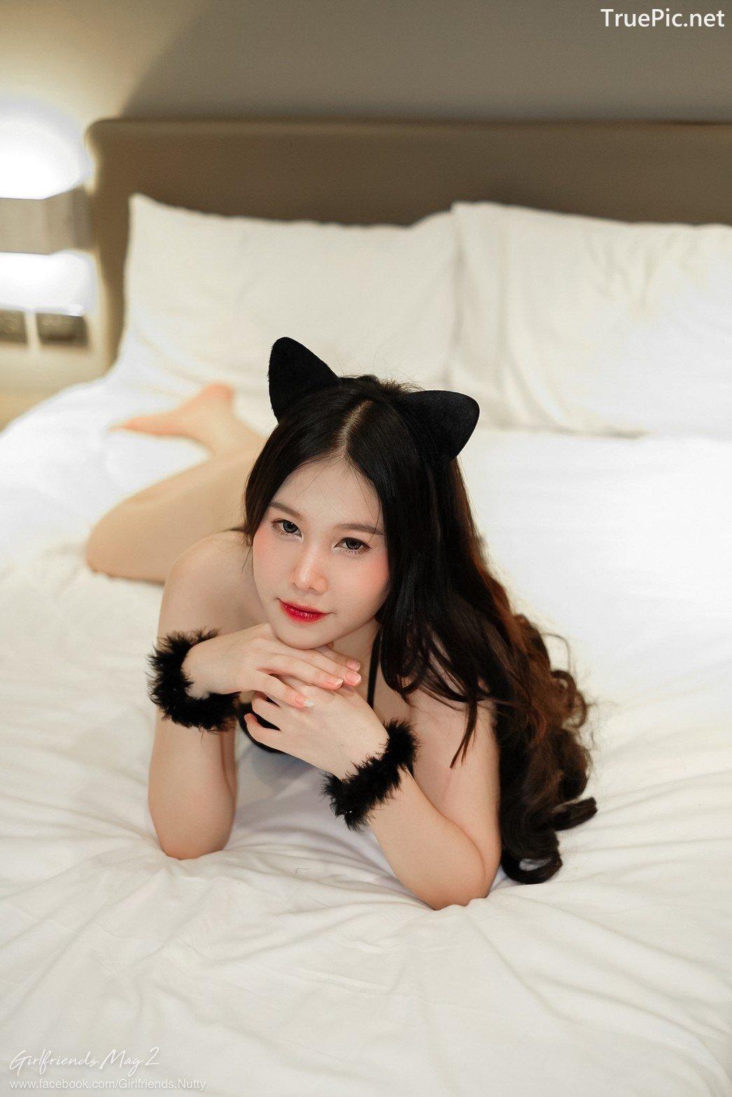 Image Thailand Model - Chanunshida Phuangsombut - Sexy Black Cat - TruePic.net - Picture-1