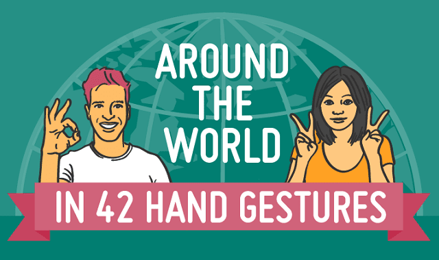 Around the World in 42 Hand Gestures