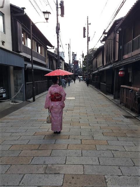 Shinbashi dori nel quartiere di Gion - Kyoto