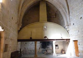 Monasterio de Poblet, Cocina.
