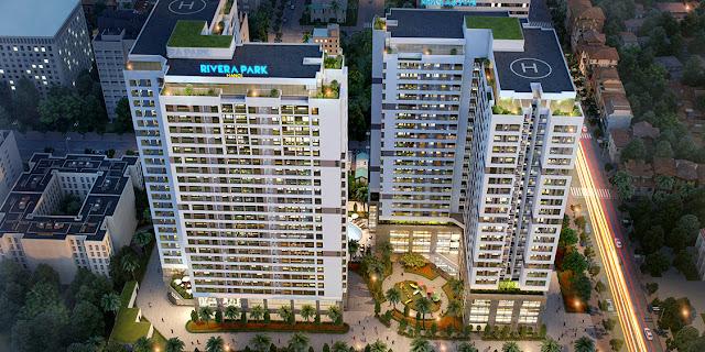Phối cảnh dự án Rivera Park Hà Nội