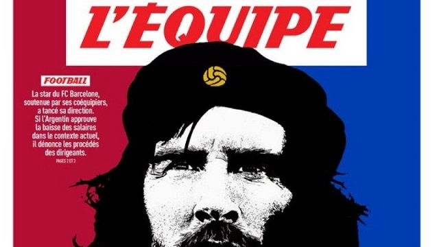 L' Equipe: «Μέσι ο Τσε της Μπάρτσα»