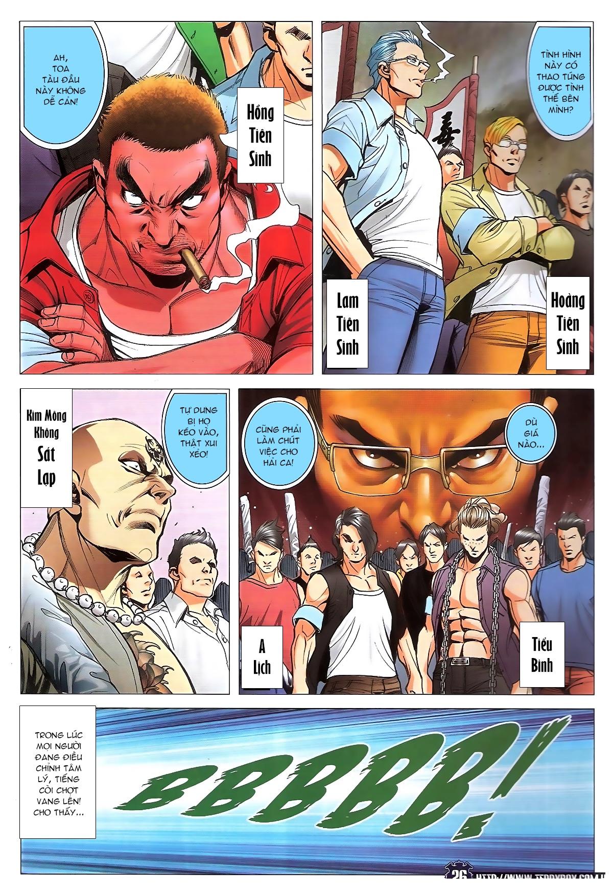 Người Trong Giang Hồ chapter 1829: khai chiến trang 23