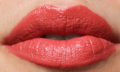 Benecos Lipstick Poppy Red Review Swatches