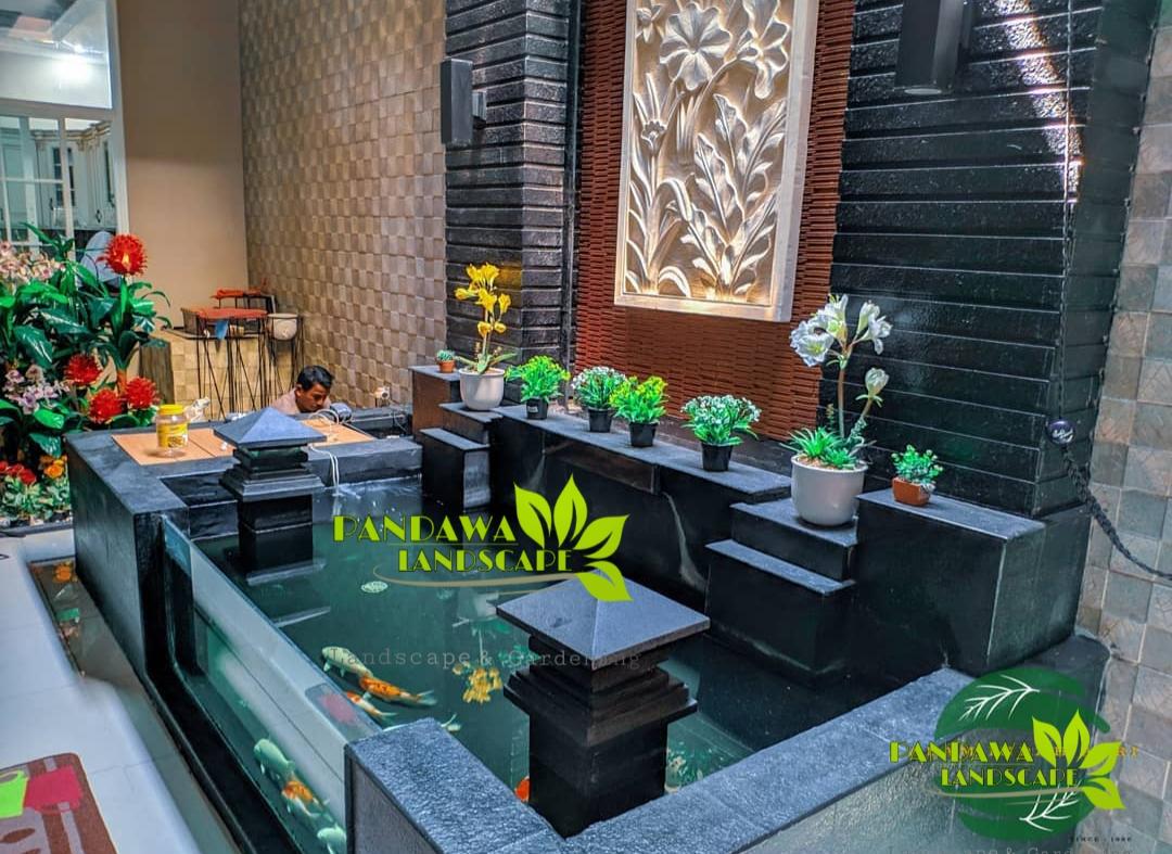 Jasa Tukang Kolam Minimalis - Koi Sidoarjo | Pandawa Landscape
