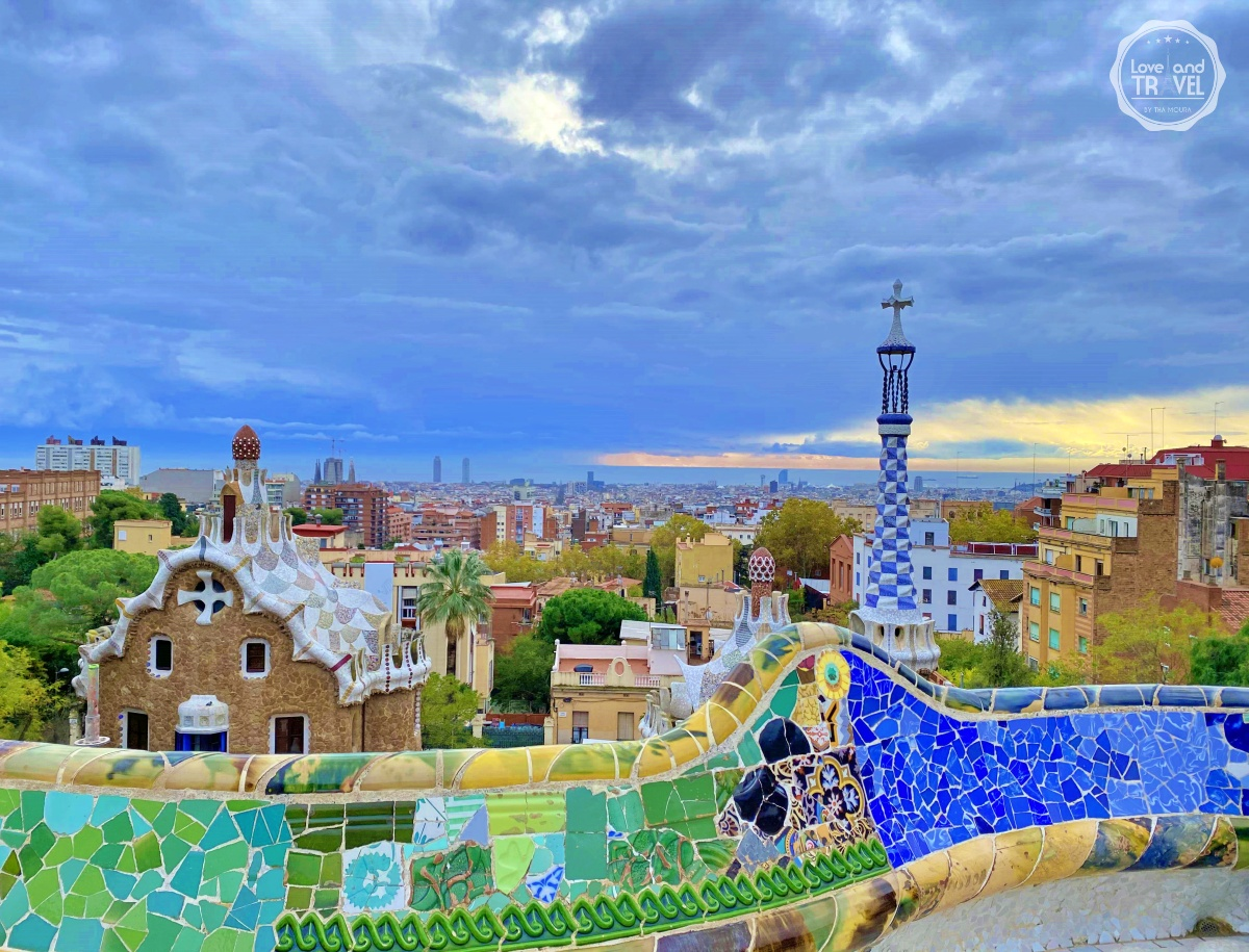 Onde fica Barcelona?? Foto: Park Güell projeto de Gaudí