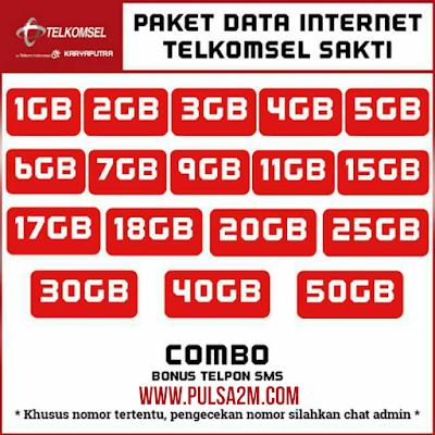 Paket Telkomsel Terbaik - Combo Sakti