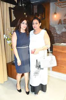 Neetu Singh with Charanjeet Kaur