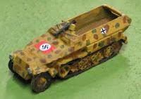Sd Kfz 251/1 halftrack (12mm)