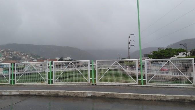 Jacobina tem manhã com chuva e 18°C de temperatura