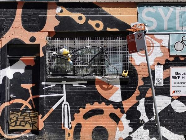 Street Art in Pyrmont by Jamie Preisz