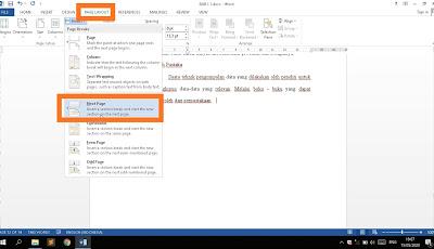 Cara menggabungkan dua file atau lebih menjadi satu tanpa merubah format di Microsoft Word