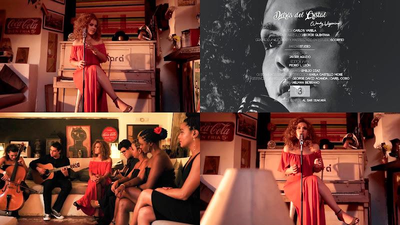 Wendy Vizcaino - ¨Detrás del cristal¨ - Videoclip - Director: Javier Agudo. Portal Del Vídeo Clip Cubano. Música cubana. Cuba.