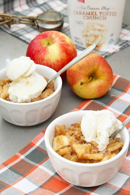 Slow Cooker Apple Crisp Recipe