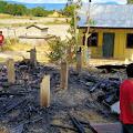 Sebuah Warung Terbakar di Simanindo, Satu Orang Alami Luka Bakar