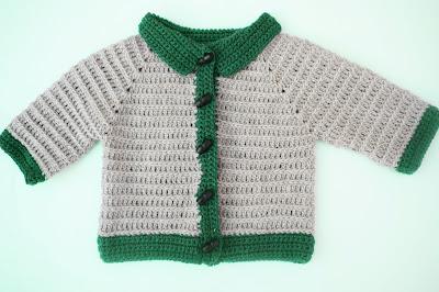 2 - Crochet imagen Chaleco con mangas para niño a crochet y ganchillo por Majovel Crochet
