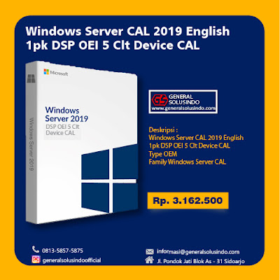 Harga Windows server surabaya