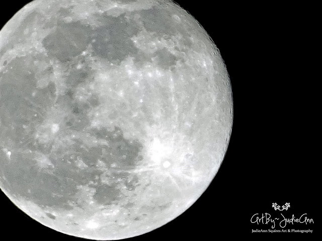 February's Full Moon 2020 4 Photos